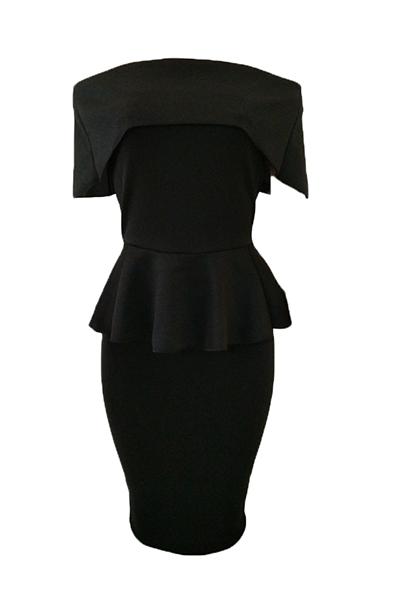 Healthy Fabric Fashion Bateau Neck Short Sleeve Sh